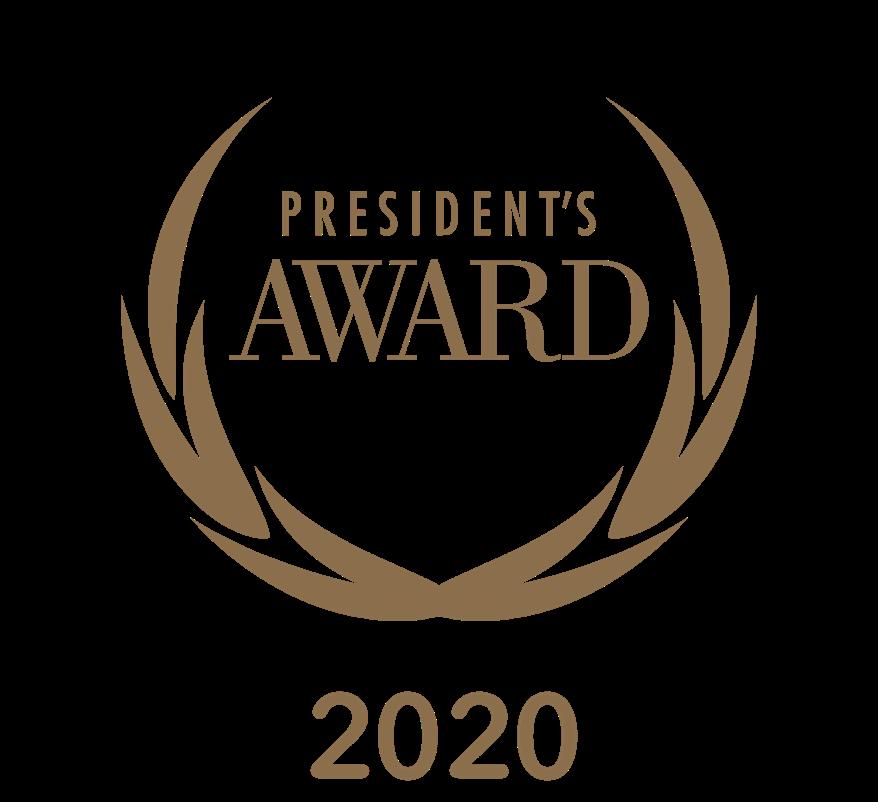 2020 presidents award image