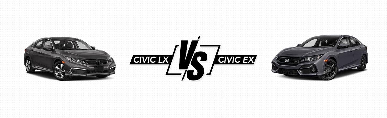 2021 Civic LX vs. Civic EX In Northeast Ohio