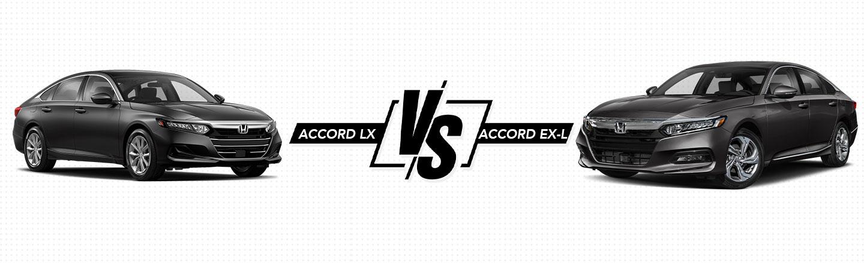 2021 Accord LX vs. Accord EX-L In Northeast Ohio