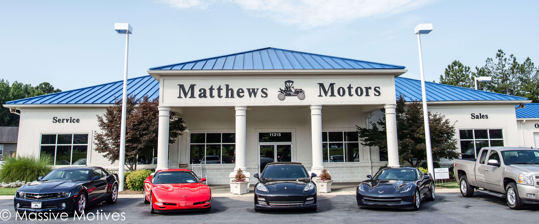 Matthew's Motors Clayton Storefront