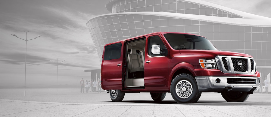 The Nissan NV Passenger Commercial Van Is Available In Tomball, TX
