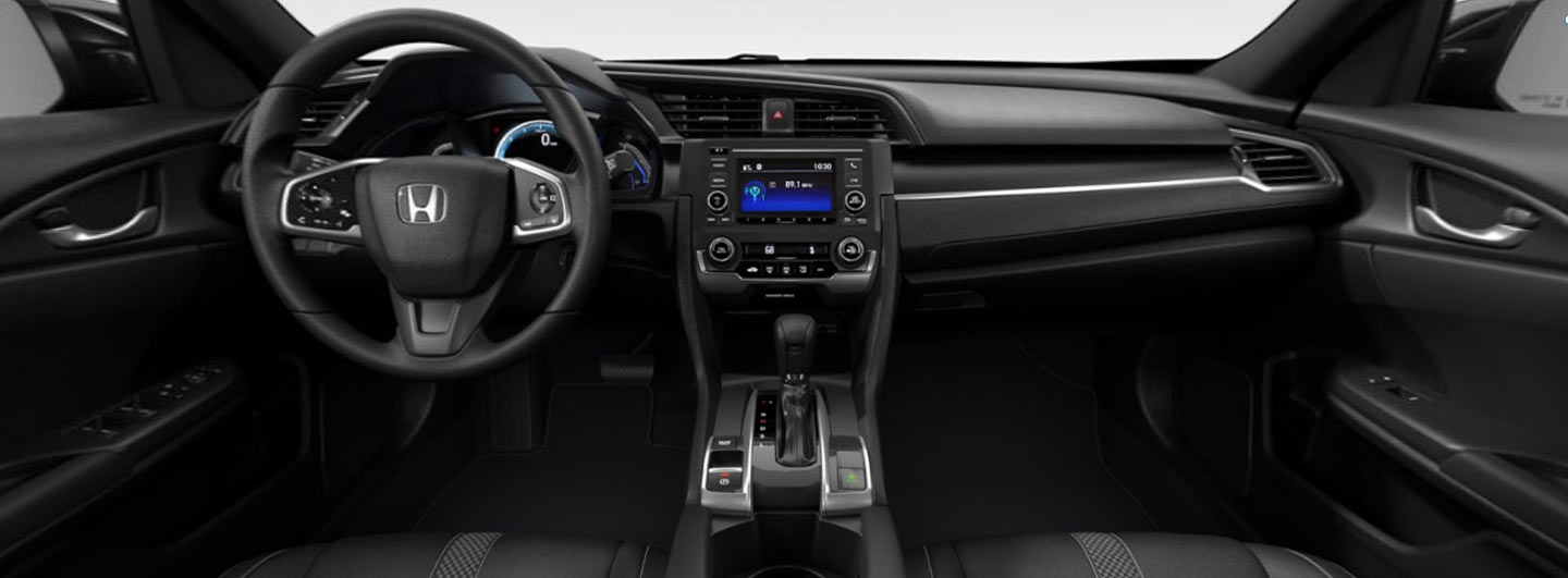 2021 Honda Civic Hatchback Interior