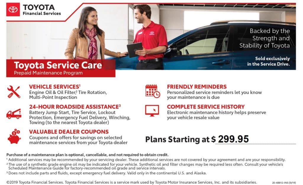 Toyota Service Care Contract