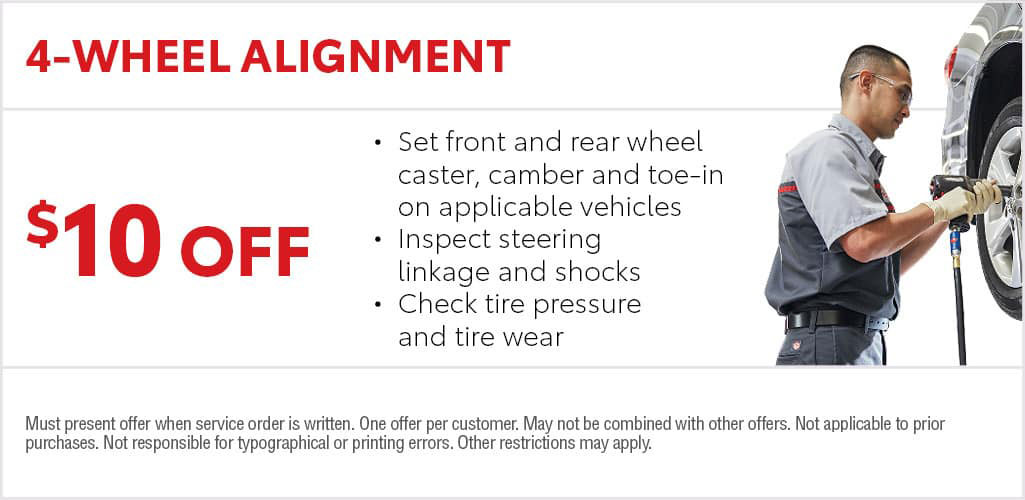 Toyota Alignment Special