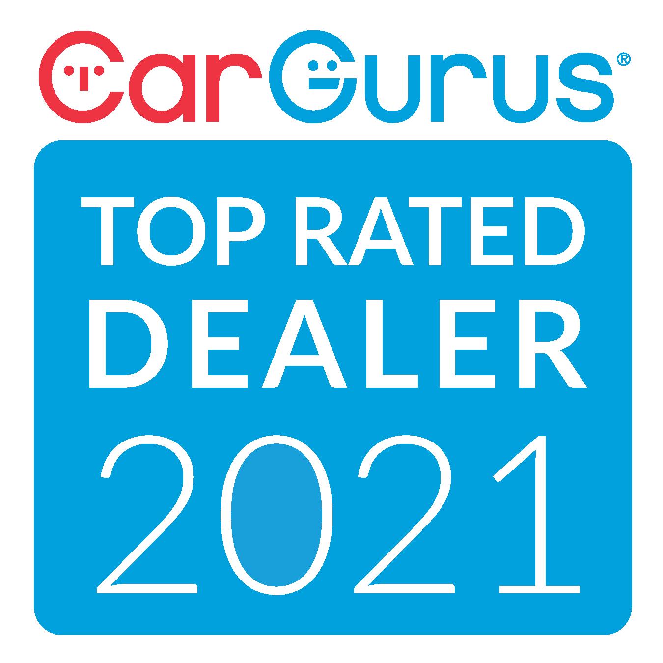 2021 Car Gurus Top Rated Dealer 2021