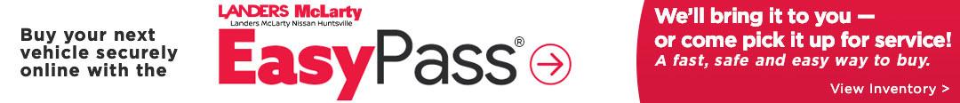 Landers McLarty Nissan EasyPass®