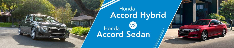 2020 Honda Accord Hybrid vs 2020 Honda Accord Sedan