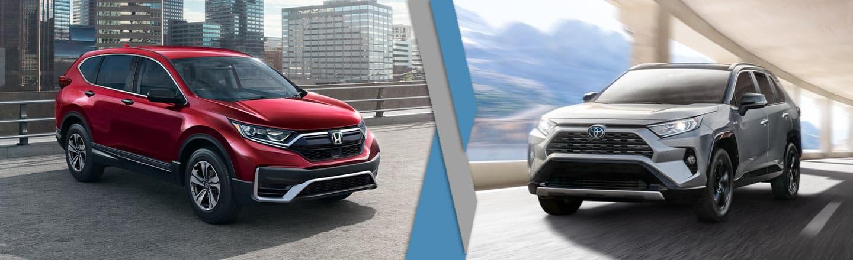 2021 Honda CR-V vs. 2021 Toyota RAV4 Near Indianapolis, Indiana