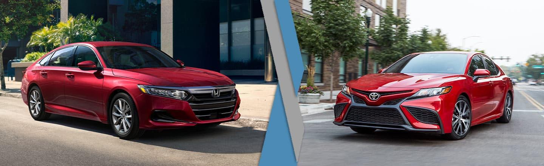 2021 Honda Accord vs. 2021 Toyota Camry In Fishers, Indiana