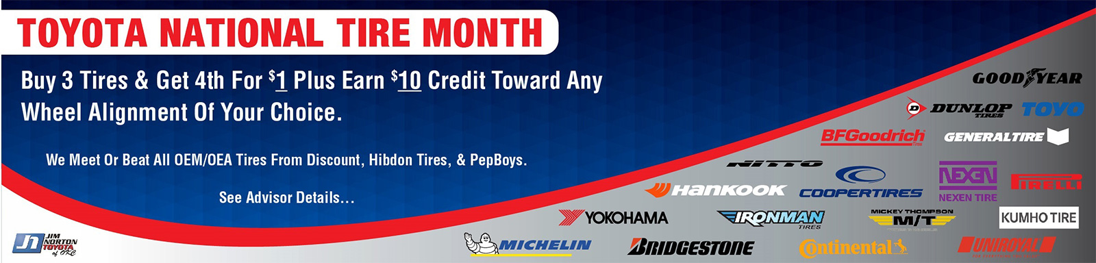 Toyota National Tire Month