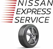 nissan express service logo