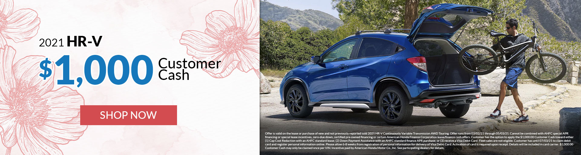 2021 Honda HR-V Offers