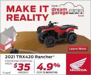 2021 TRX 420 Rancher