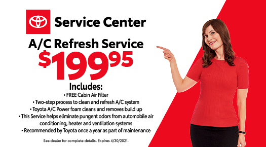 A/C Refresh Service