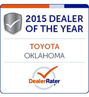 2015 Dealer of the Year