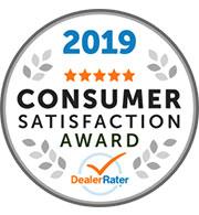 2019 Consumer Satisfaction Award