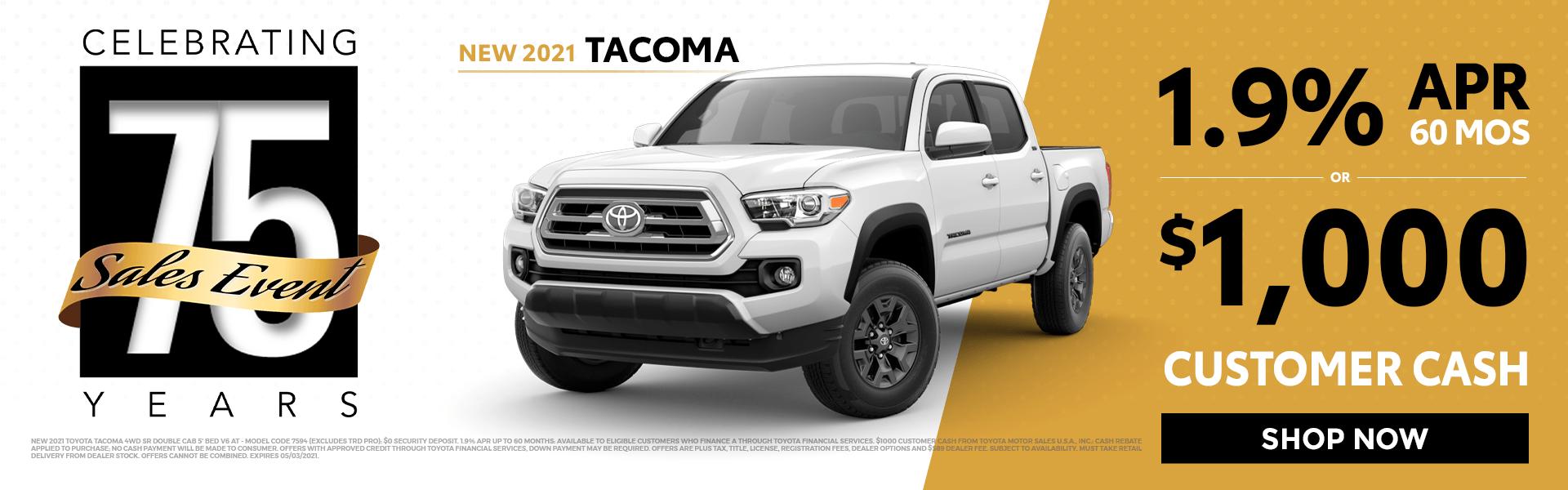 2021 Tacoma