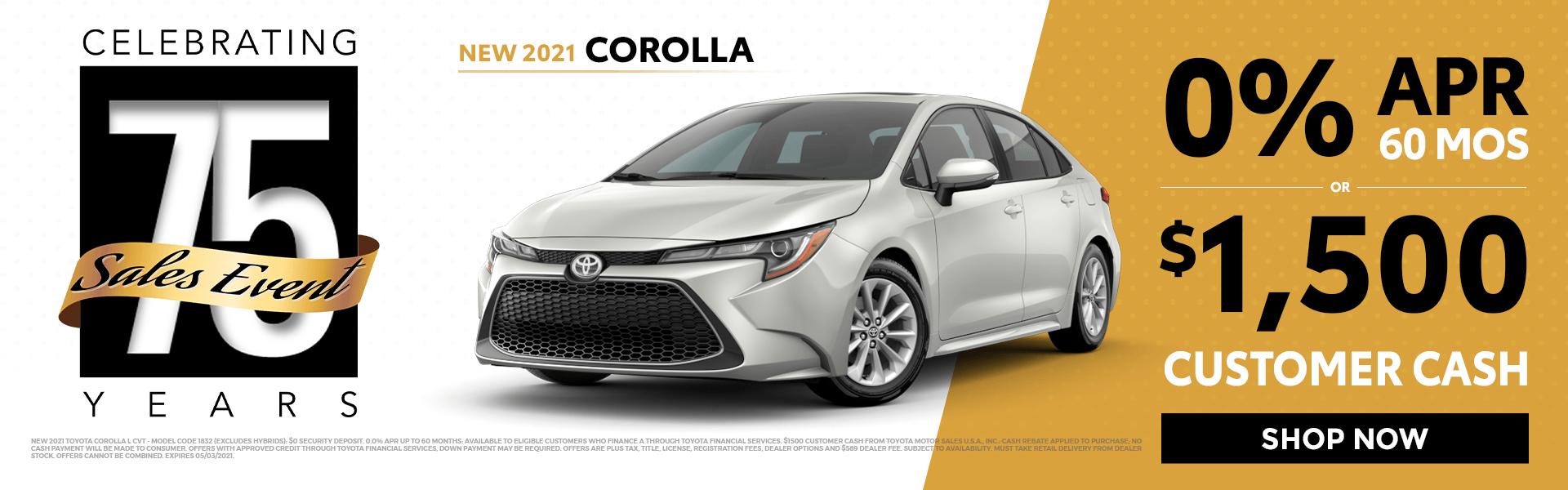2021 Corolla