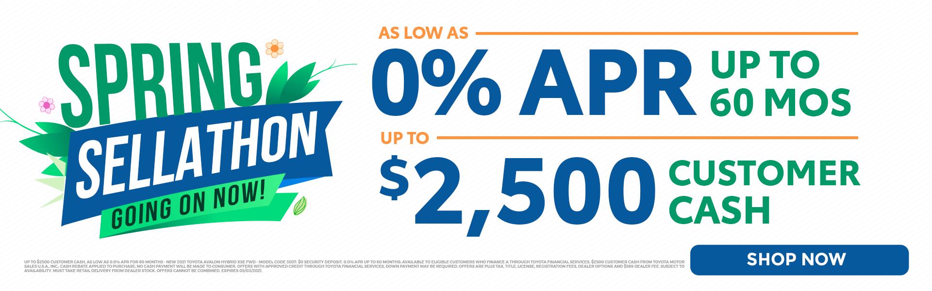 0% APR 60 MONTHS