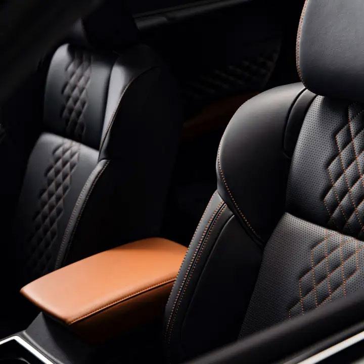 Interior Seats and Stiching