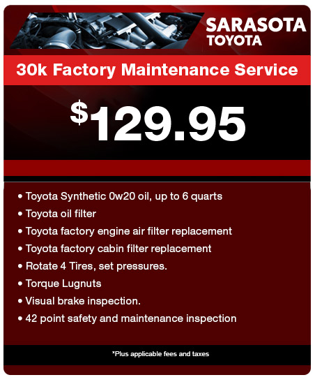 30K Factory Maintenance Service
