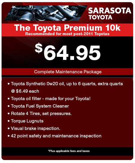 The Toyota Premium 10K