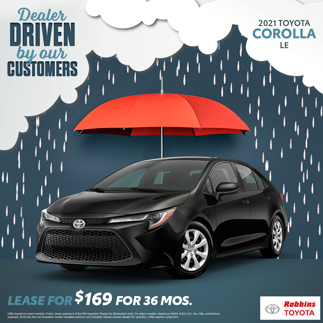 2021 Toyota Corolla - Robbins Toyota - Mt Ple