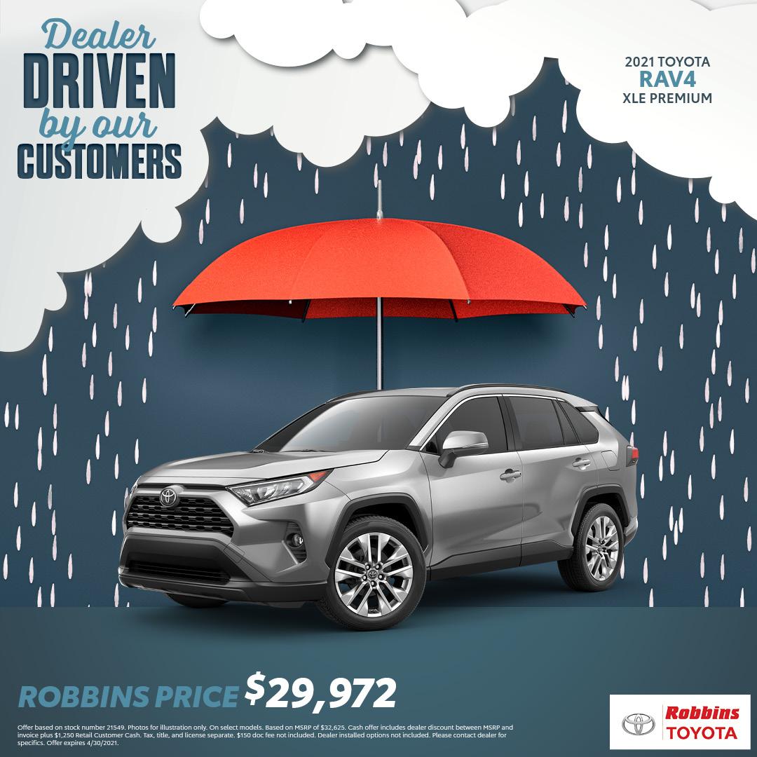 2021 Toyota Rav4 - Robbins Toyota - Mt Pleasa