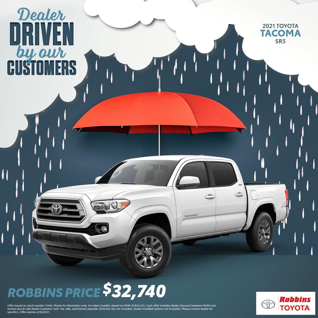 2021 Toyota Tacoma - Robbins Toyota - Mt. Ple