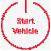 start vehicle icon