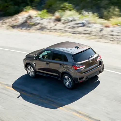 21 Outlander sport Vehicle driving on road
