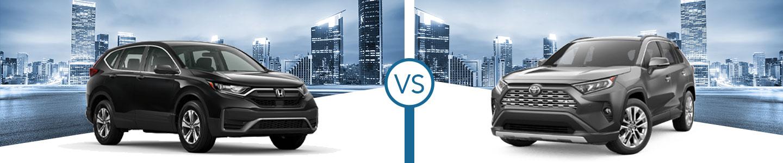 Comparing the 2021 Honda CR-V & 2021 RAV4