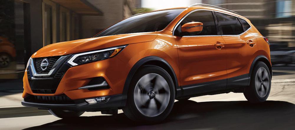 2021 Nissan Rogue Sport Exterior Color Orange