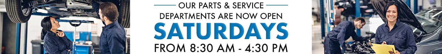 Service and Parts Hours