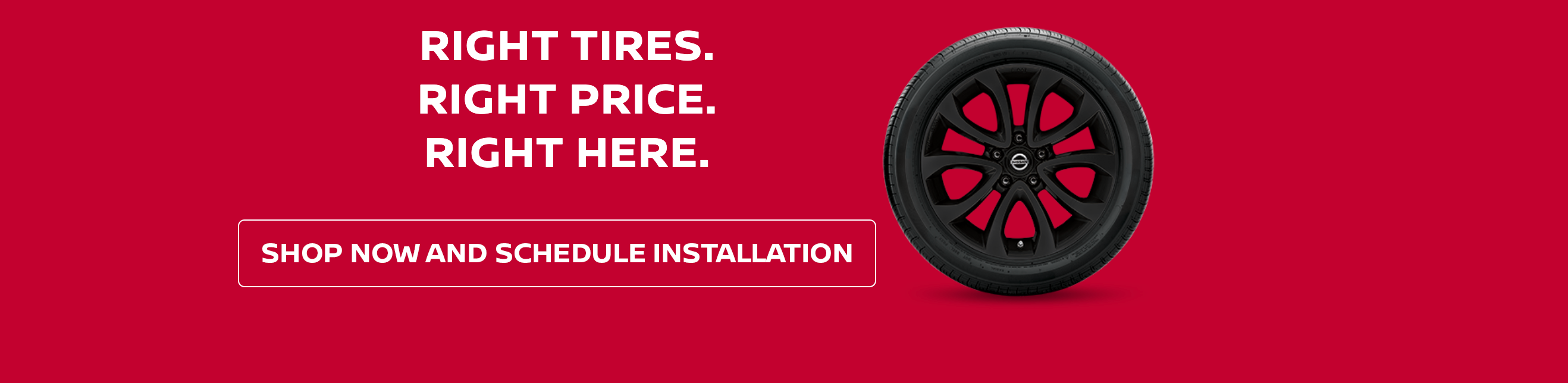 Generic Tire Banner