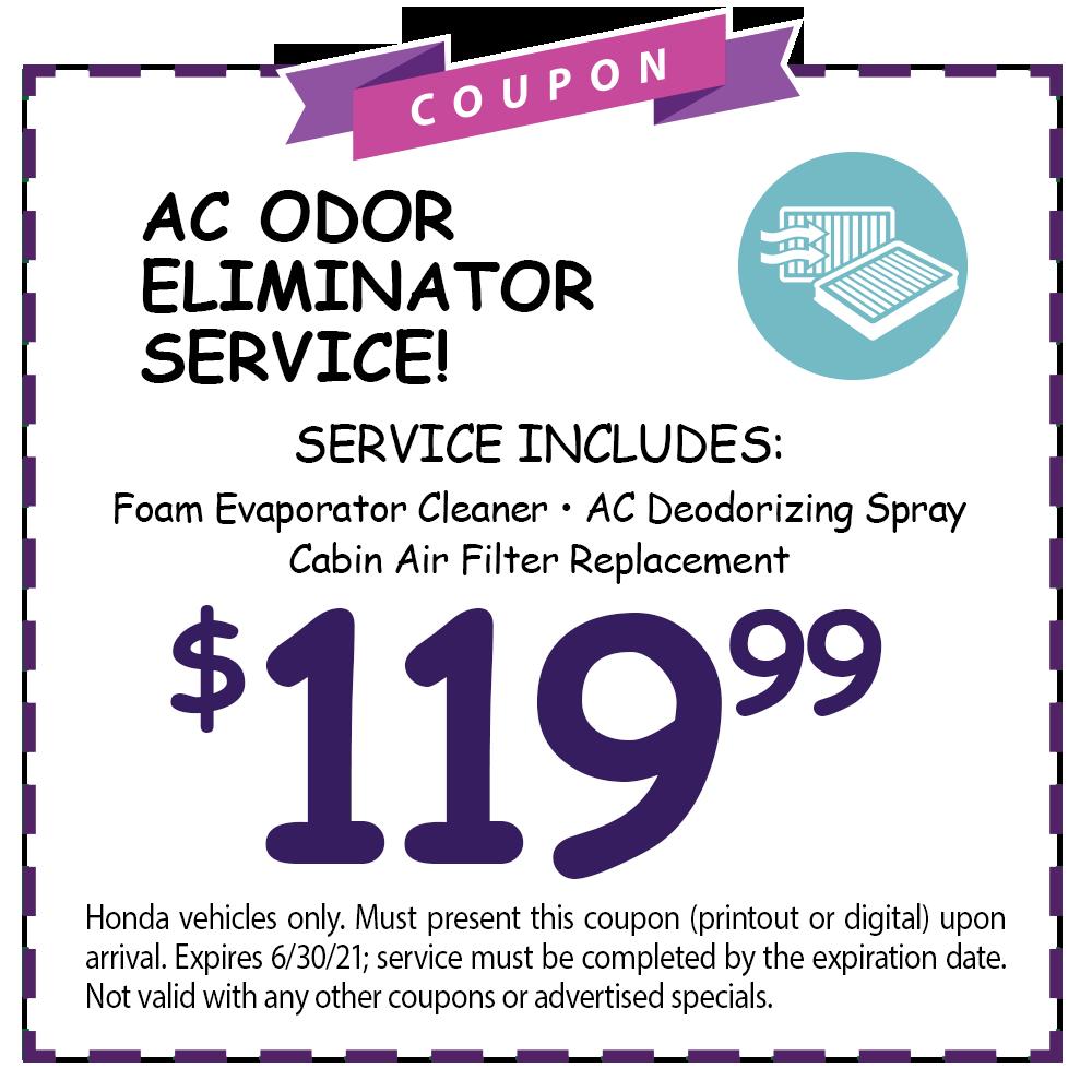 AC Odor Eliminator Service