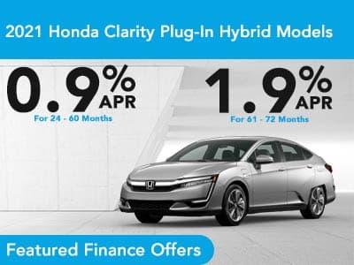 2021 Honda Clarity Plug-In Hybrid Models