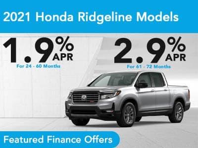 2021 Honda Ridgeline Models