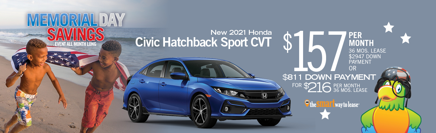 2021 Honda Civic Hatchback Sport CVT