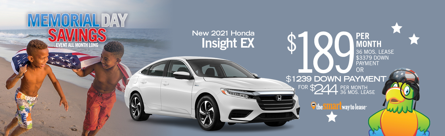 2021 Honda Insight EX Automatic