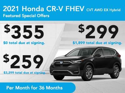 2021 CR-V FHEV CVT AWD EX Hybrid