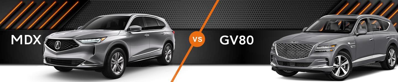 Premium SUV Comparison: 2022 Acura MDX Vs. 2021 GV80