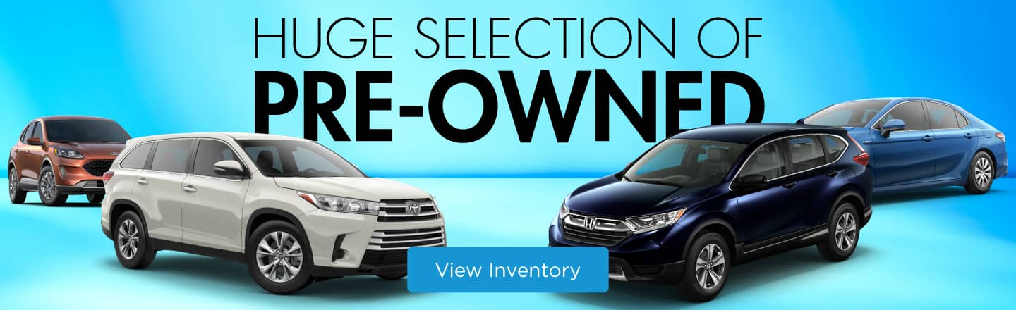 Huge Selection Pre-Owned