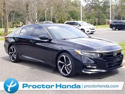 Certified 2019 Honda Accord Sedan Sport 1.5T