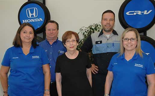 Paul Moak Honda Service Department