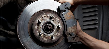 Front or Rear Brake Pad Service