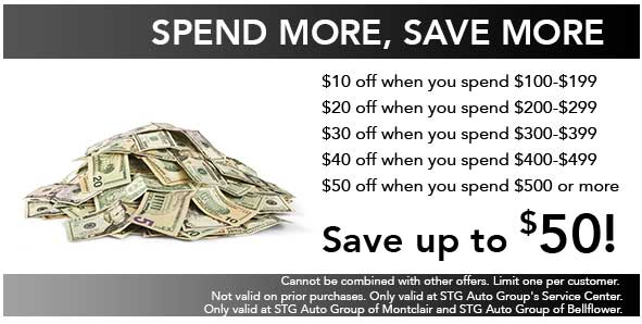 Spend More, <br>Save More