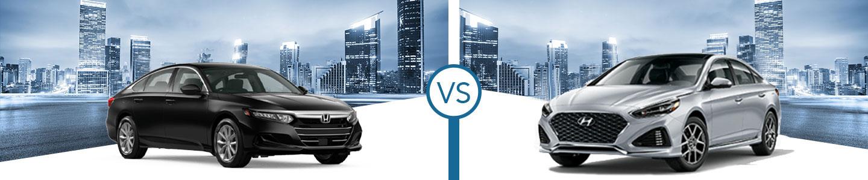 Comparing the 2021 Honda Accord and 2021 Sonata