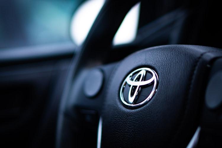Toyota Leather Steering Wheel