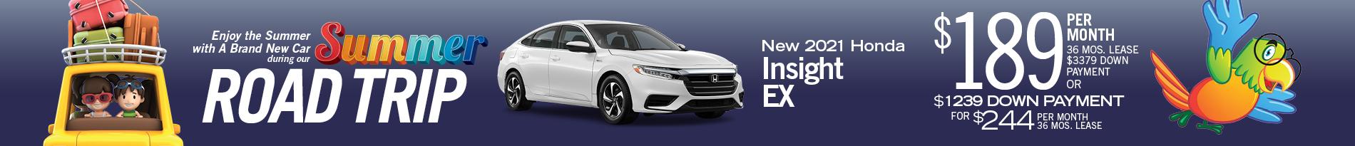 2021 Honda Insight EX Automatic